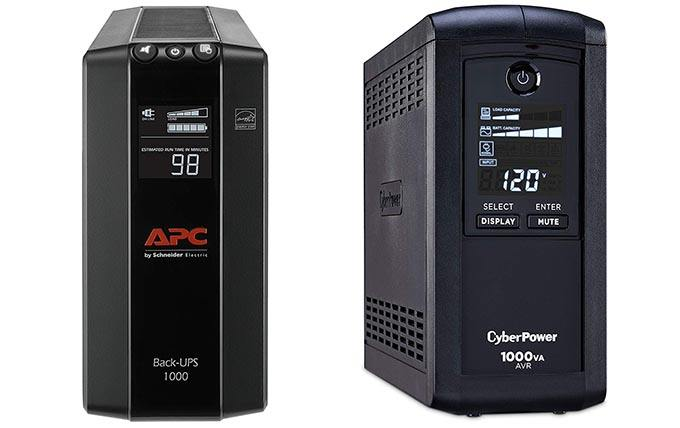 BX1000M vs CP1000AVRLCD