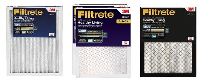 Filtrete MPR1900 vs 2200 vs 2800