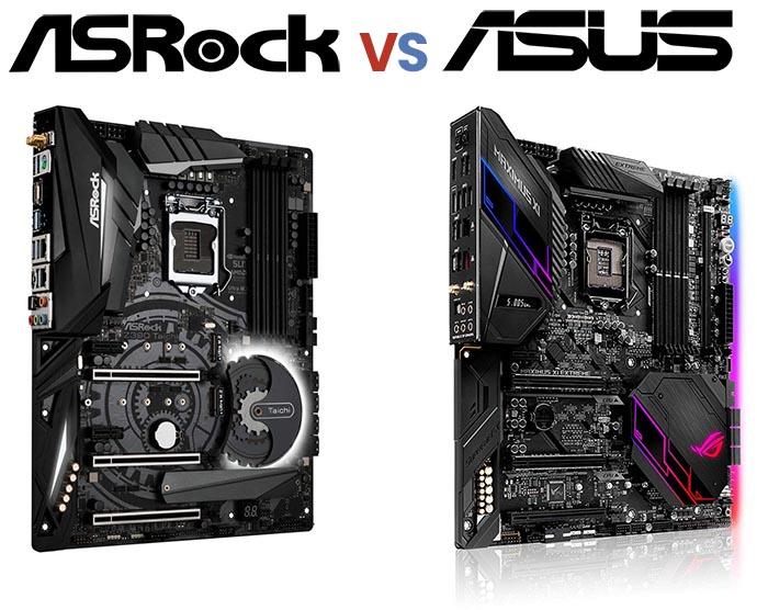 ASRock vs ASUS Motherboards