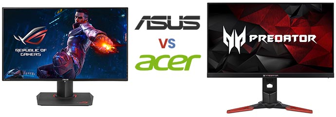ASUS vs Acer Monitors