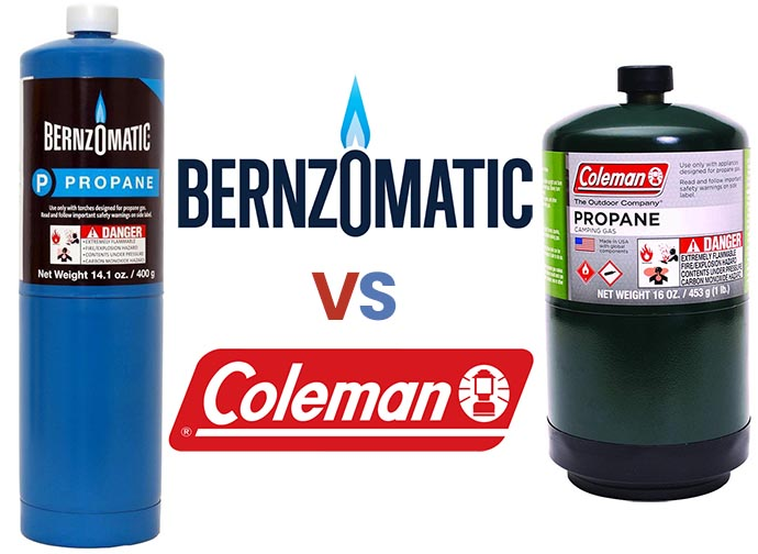 Bernzomatic vs Coleman