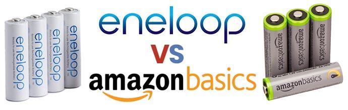 Eneloop vs AmazonBasics