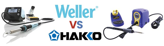 Weller vs Hakko