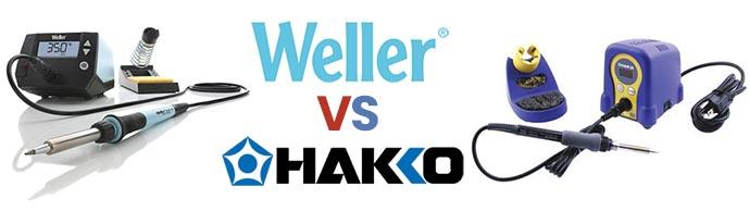 Weller vs Hakko