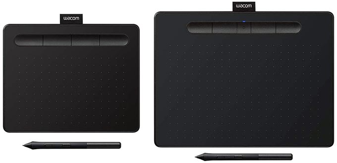 Graphic Tablet Size