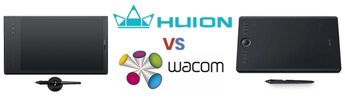 Huion vs Wacom Drawing Tablets