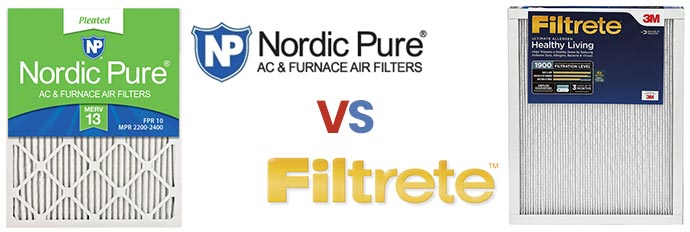 Nordic Pure vs Filtrete Filters