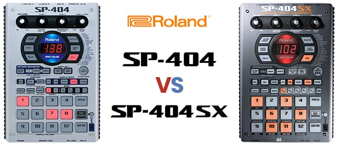 SP-404 vs SP-404SX