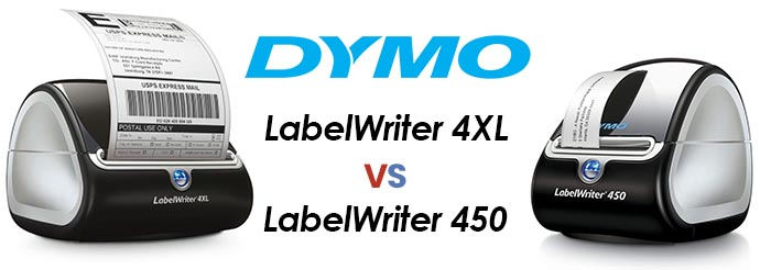 Dymo LabelWriter 4XL vs 450